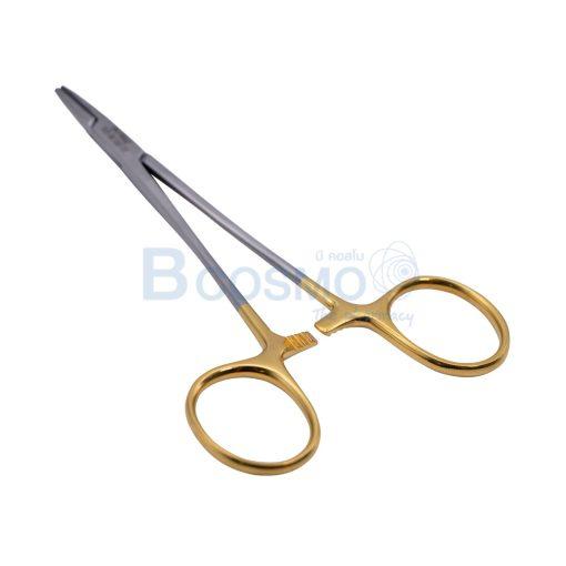 TC HALSEY Needle Holder serrated 13 cm. HTM MT1215 2