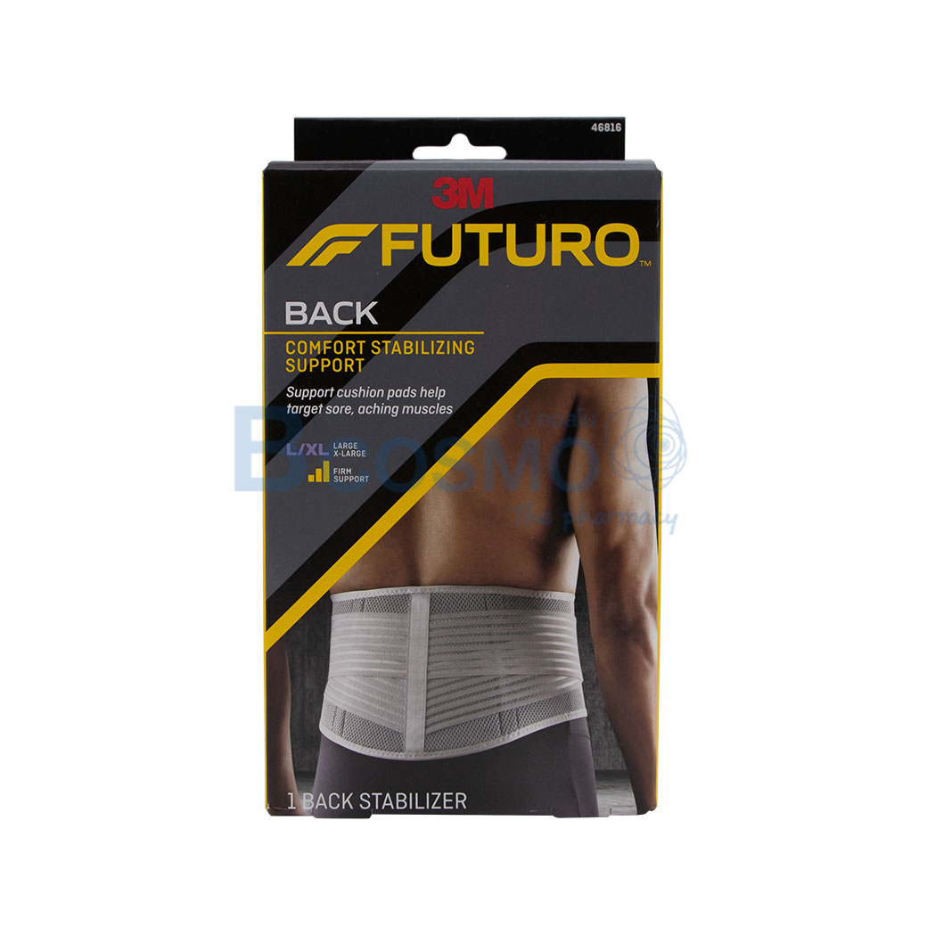 FUTURO BACK COMFORT STABILIZING SUPPORT L XL ES0125 L XL 1