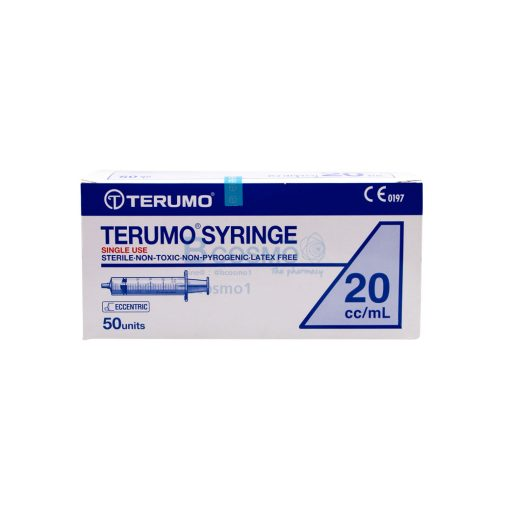 TERUMO 20 ml.50 ชิ้น EF0802 01 20 2