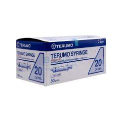 ไซริงค์ TERUMO 20 ml. [50 ชิ้น/กล่อง]