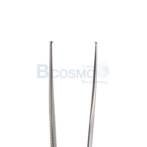 MT1217 12 A ปากคีบ MICRO ADSON Forceps 1x2 teeth 12 cm 3