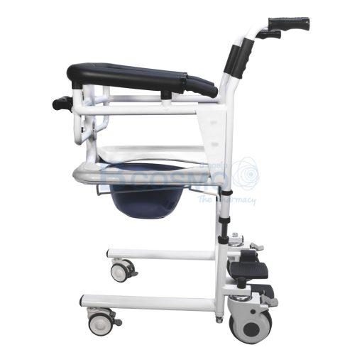 WC1602 WH รถเข็นเคลื่อนย้ายผู้ป่วย YD 889 สีขาว ลายน้ำ2