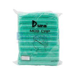 หมวกตัวหนอน Dura 100's 18 cm. สีฟ้า | สีขาว | สีเขียว