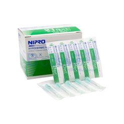 เข็มฉีดยา NIPRO 21G x 1″ [100 ชิ้น/กล่อง]