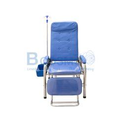 เตียงบริจาคโลหิตสแตนเลส สีฟ้า