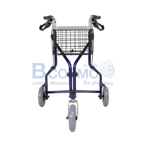 Wheelchair Rollator รถเข็นหัดเดิน ไม่มีที่นั่ง สีน้ำเงิน Y969H YYY WC0411 BL 1