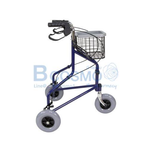 Wheelchair Rollator รถเข็นหัดเดิน ไม่มีที่นั่ง สีน้ำเงิน Y969H YYY WC0411 BL 3