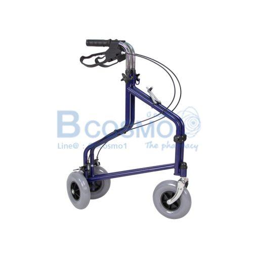 Wheelchair Rollator รถเข็นหัดเดิน ไม่มีที่นั่ง สีน้ำเงิน Y969H YYY WC0411 BL 9