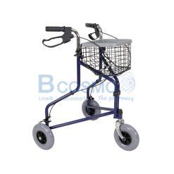 Wheelchair Rollator รถเข็นหัดเดิน ไม่มีที่นั่ง สีน้ำเงิน