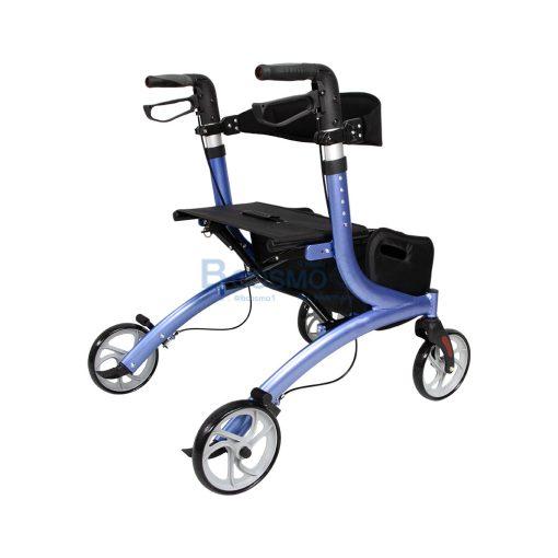 Wheelchair Rollator รถเข็นหัดเดิน Euro style ล้อ 8 นิ้ว สีน้ำเงิน Y8860L YYY WC0409 BL4