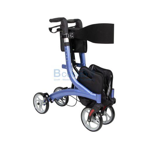 Wheelchair Rollator รถเข็นหัดเดิน Euro style ล้อ 8 นิ้ว สีน้ำเงิน Y8860L YYY WC0409 BL5