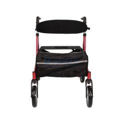Wheelchair Rollator รถเข็นหัดเดิน Euro-style ล้อ 8 นิ้ว สีแดง | สีน้ำเงิน