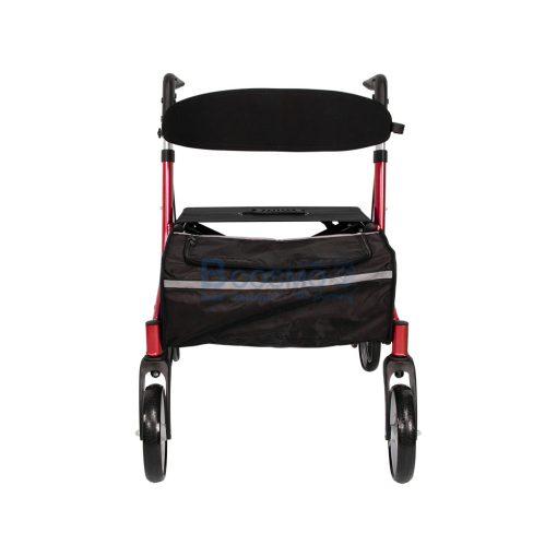 Wheelchair Rollator รถเข็นหัดเดิน Euro style ล้อ 8 นิ้ว สีแดง Y8860L YYY WC0409 R1