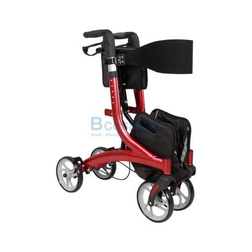 Wheelchair Rollator รถเข็นหัดเดิน Euro style ล้อ 8 นิ้ว สีแดง Y8860L YYY WC0409 R5