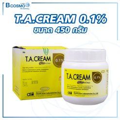 T.A.CREAM  0.1% 450G.