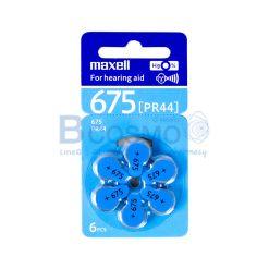 ถ่านหูฟัง Maxell 675 PR44