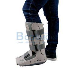 รองเท้าเฝือกลมมีปั้ม สีเทา FreeSize