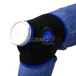 ชุดถุงประคบ เย็น/ร้อน สีน้ำเงิน 6 นิ้วพร้อมสายรัด