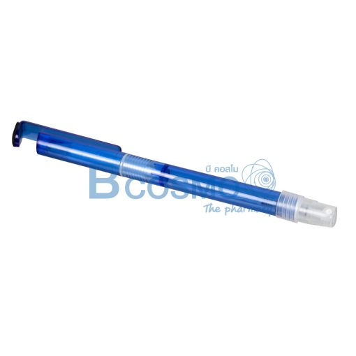 ปากกาหัวฉีดสเปรย์ ด้ามสีน้ำเงิน แบบมีปลอกวางมือถือได้