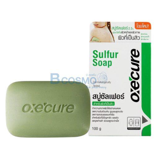 อ๊อกซีเคียว OXECURE SULFUR SOAP 100 ml.