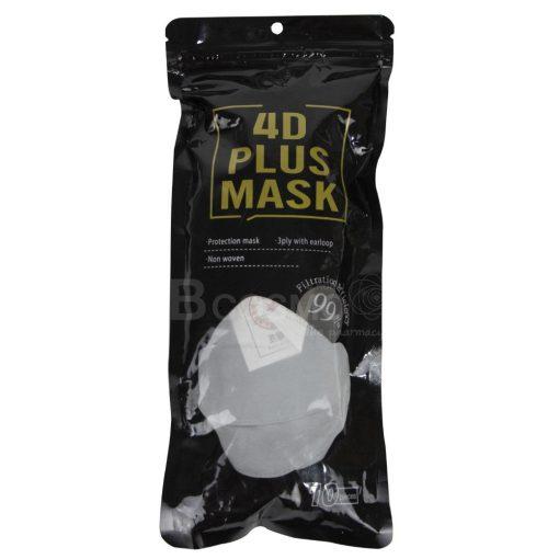 หน้ากากอนามัย 4D PLUS MASK