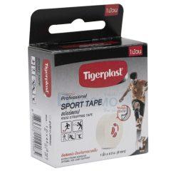 เทปพยุงกล้ามเนื้อ TIGERPLAST SPORT TAPE 1 นิ้ว x 5 หลา สีขาว